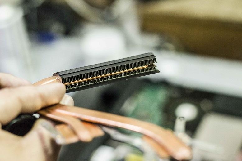 Чистая система охлаждения и радиатор