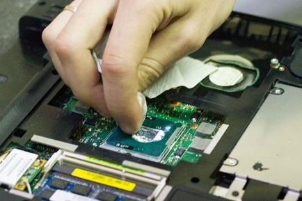 Отмывка процессора